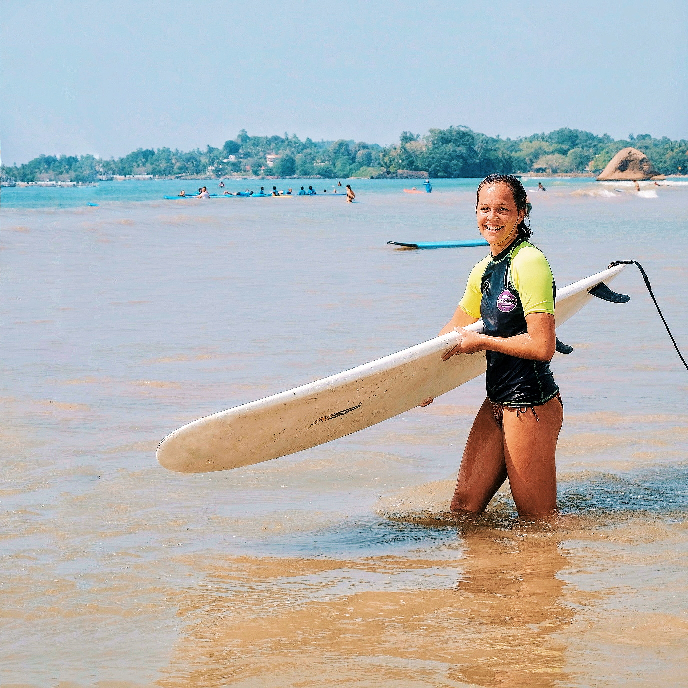 Surfing coaching lesson