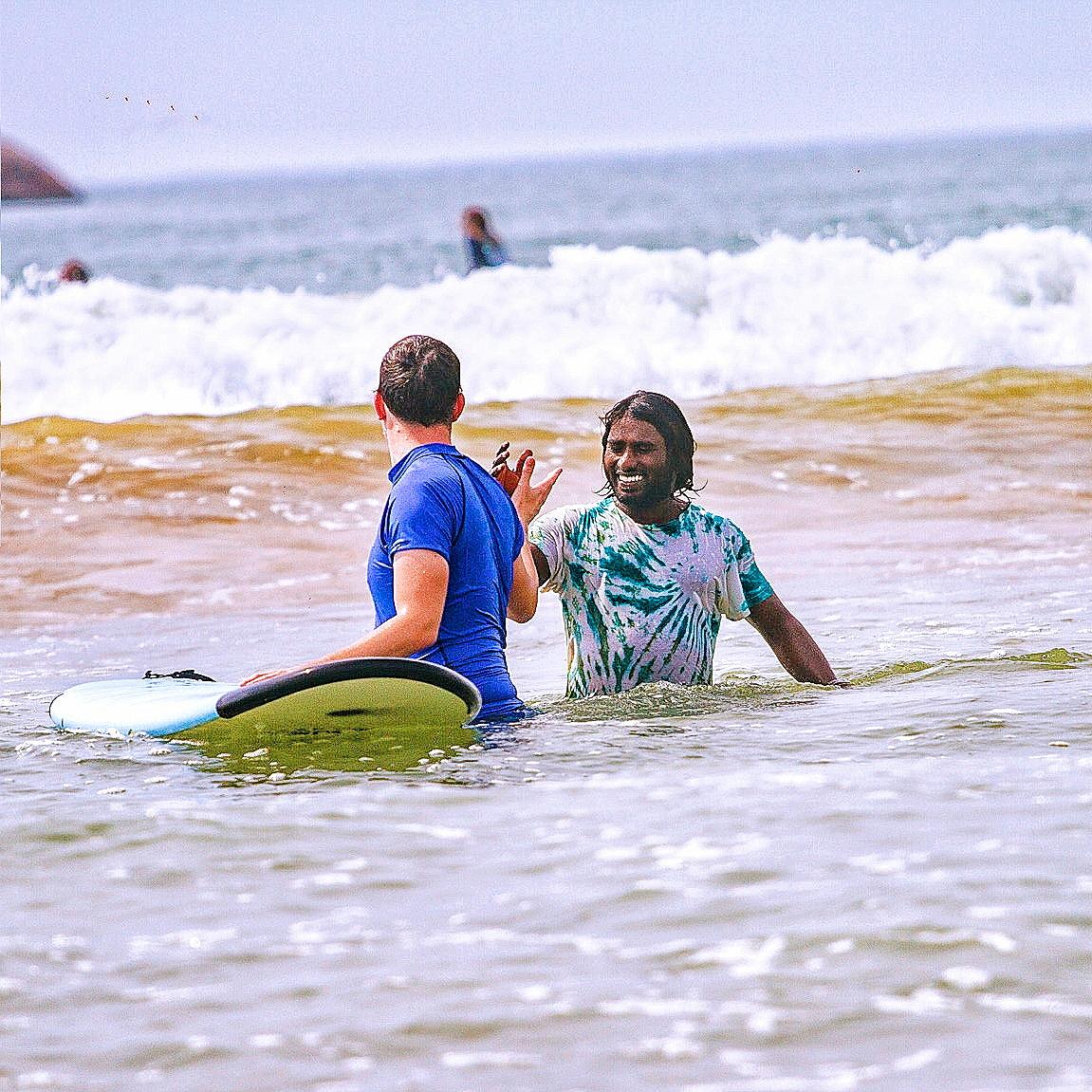 Privat surf lesson